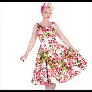 Retro Swing Dress. Sz. 10